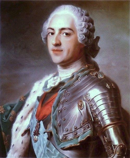 Luis XV de Francia, El Rey aquí fue su mejor momento.