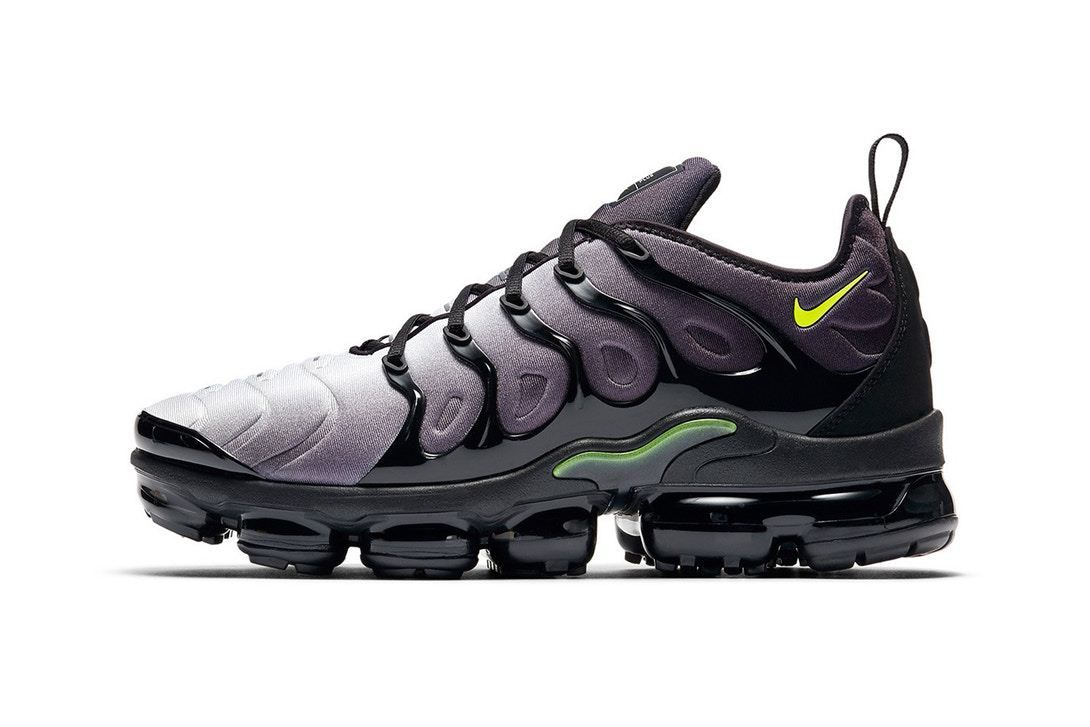 b549782c72d349 Nike Air Vapor Max Plus Black Volt Releasing Soon | Nike | Nike air ...