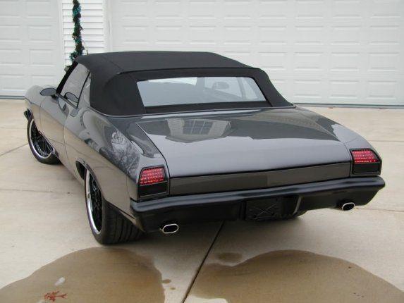 1969 Chevelle Convertible Custom