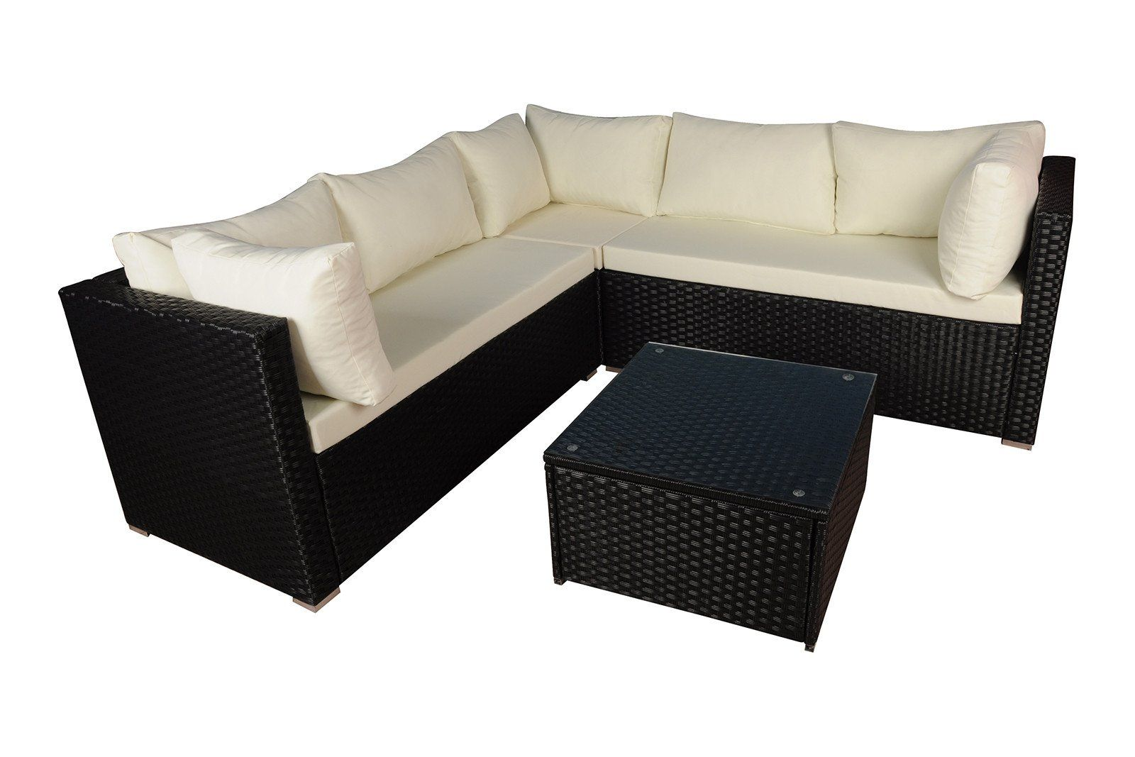 Honolulu Modern Outdoor Sectional with Coffee Table ...