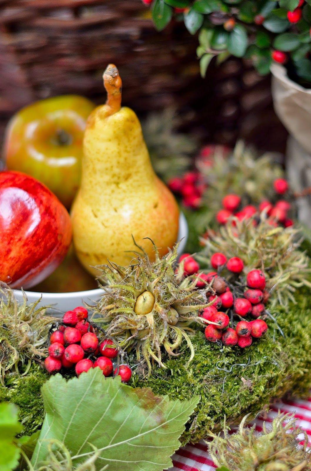 Dom pod brzozą: O starym rowerze, jesiennych dekoracjach i kielisz...