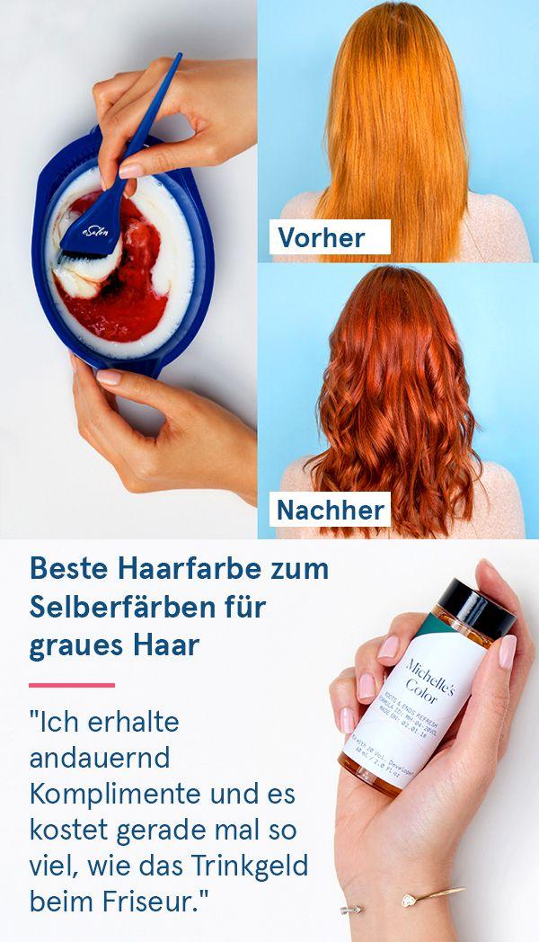 """Photo of Die einfache Lösung, graues Haar abzudecken: """"Ich liebe es … es hat mir ein…"""