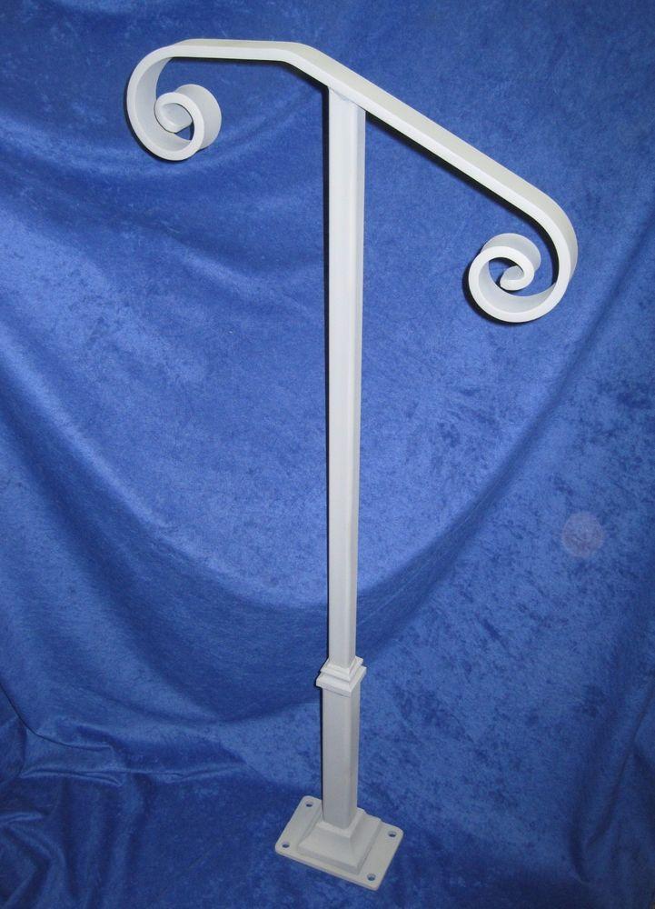 Best Details About Steel Handrail Single Post Railing Kit 400 x 300