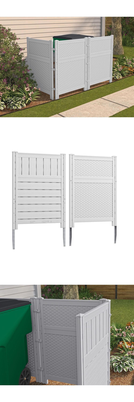 Fence panels outdoor screen enclosure reversible divider