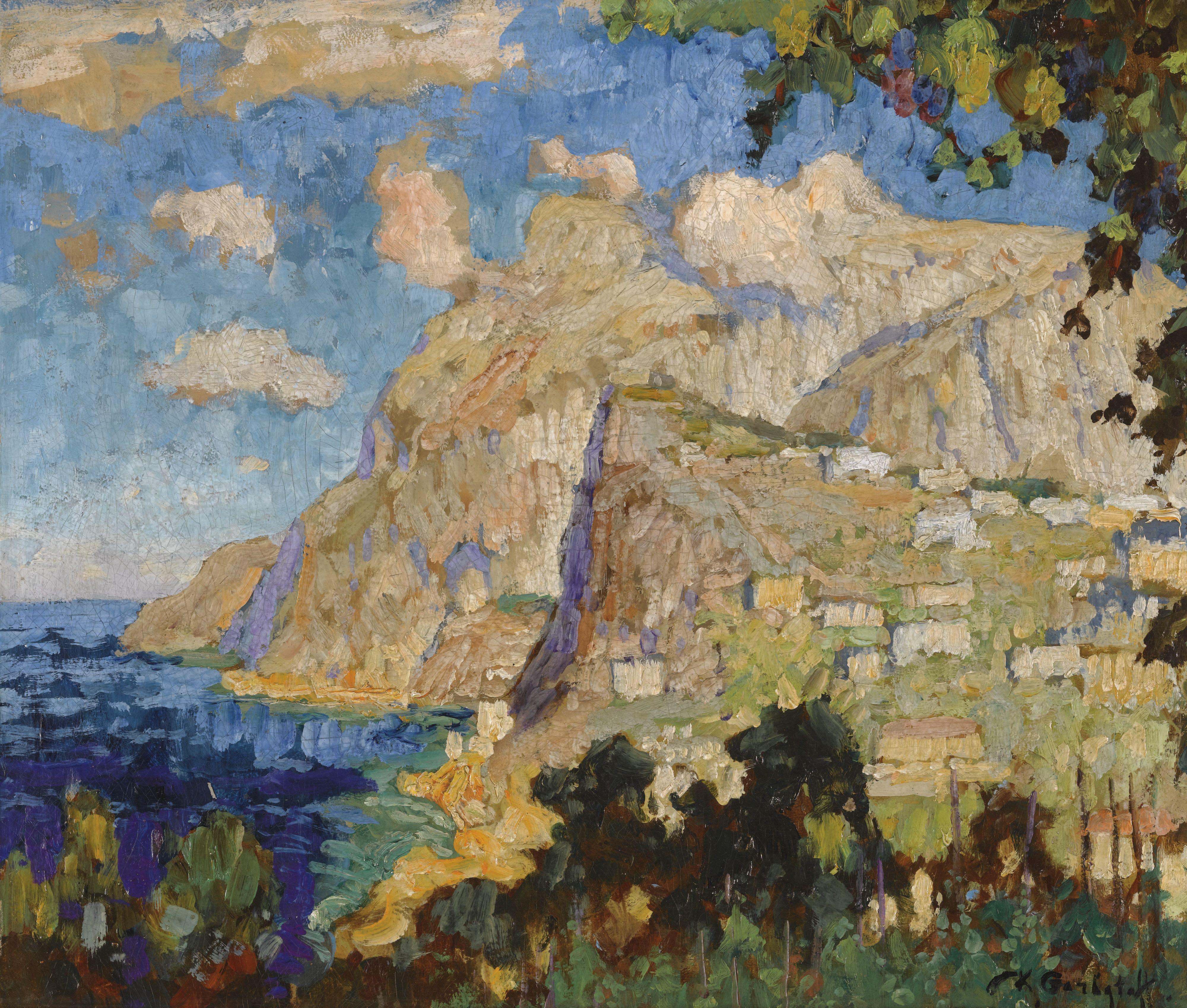 Gorbatov, Konstantin Ivanovich     Landscape     Sotheby's
