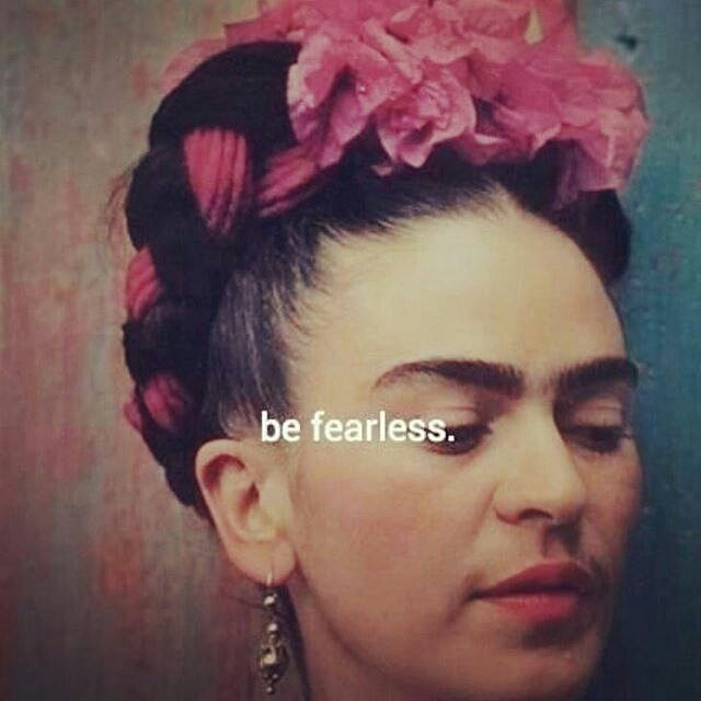 Today be...like #frida #BoldLatina #fearless #worklife #career #WorkLifePlay #Latina #liveyourdreams #fridakahlo #icon #starseed #awakening #wisdom #inspirational #qoutes #enlightenment #thesecret #theawakening #love @Regrann from @supadaily_latina