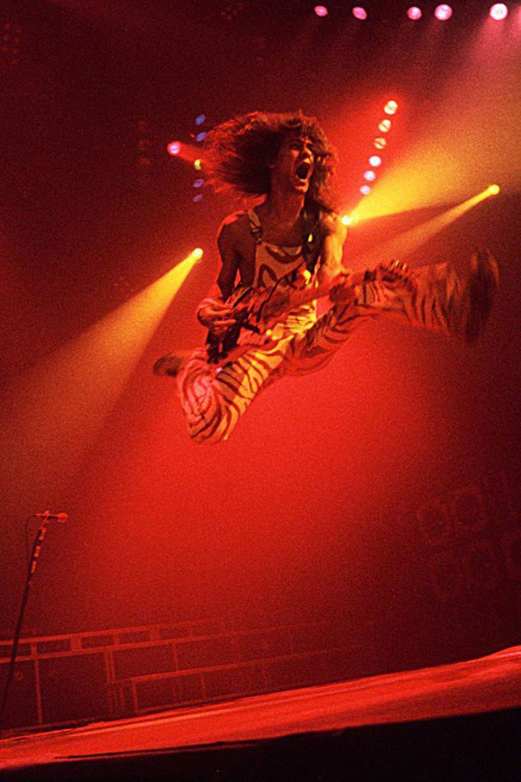 Eddie Van Halen Jump What A Great Song Eddie Van Halen Van Halen Halen