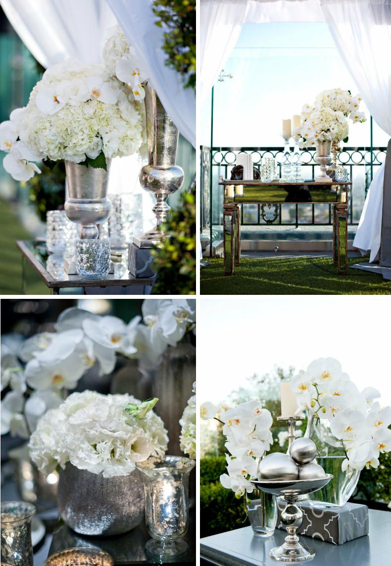 ELEGANT RECEPTION IDEAS | mirrored wedding reception decor ...