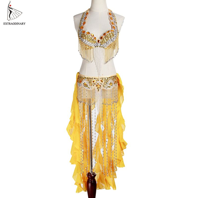 Beads Tassels Necklace Shining Dance Accessories Belly Dance Costumes
