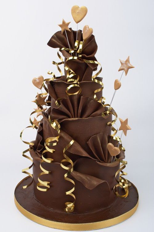 Wish they would have let me have a Chocolate cake like this when I