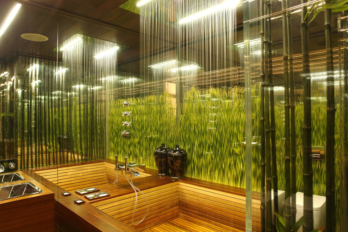 rainforest style bathroom - Google Search | design & decor ...