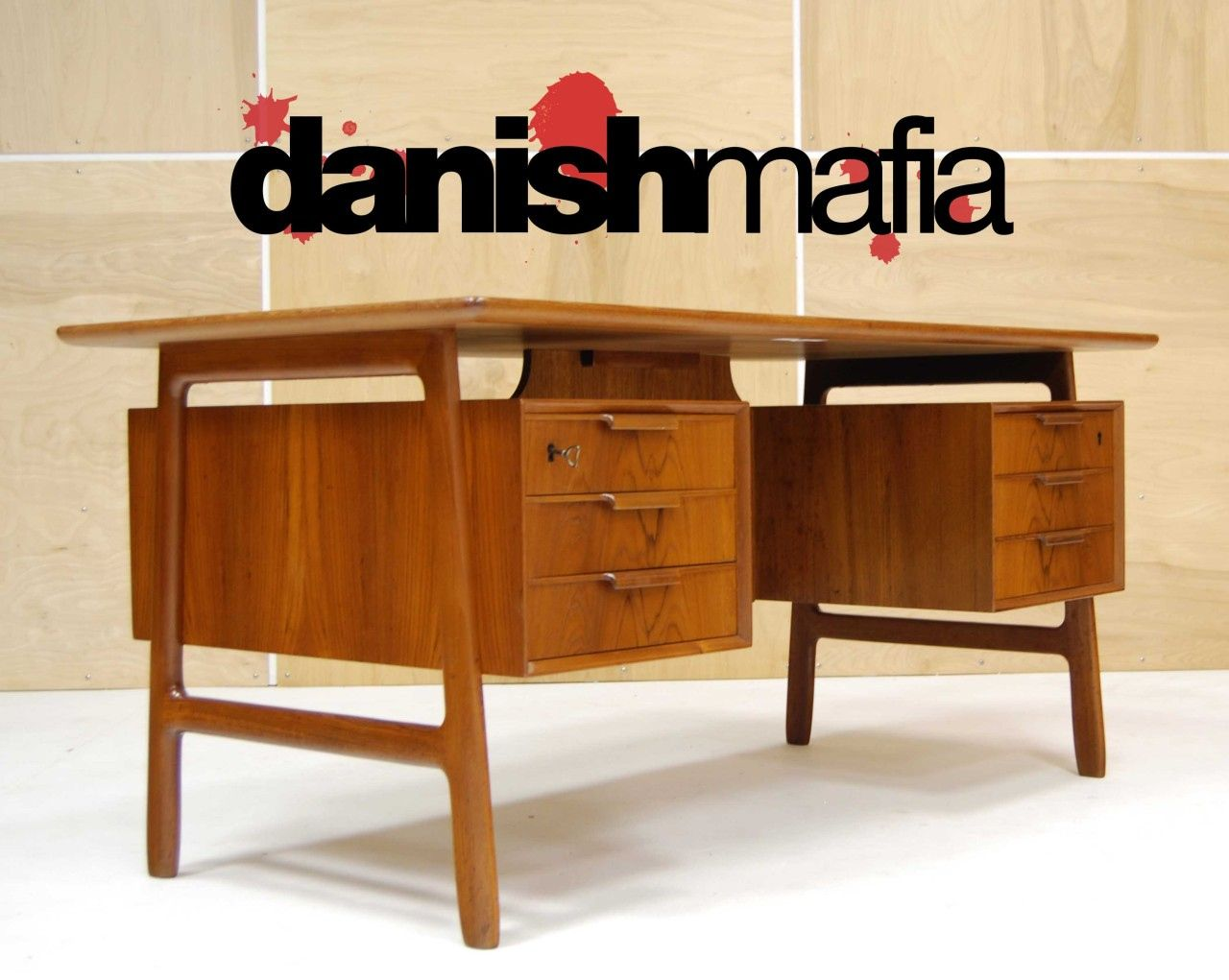 Danish Modern Teak Desk Luxury Home Office Furniture Check More At Http