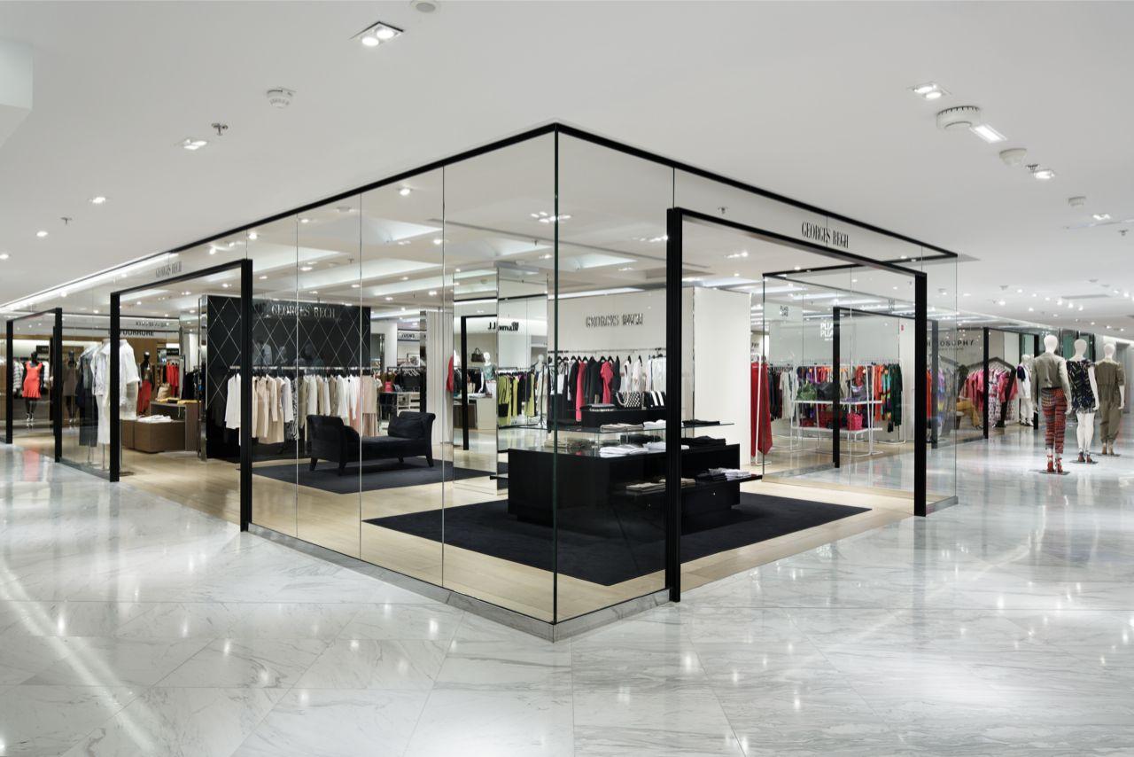 Printemps Wonderwall Cool Retail Design Store Design
