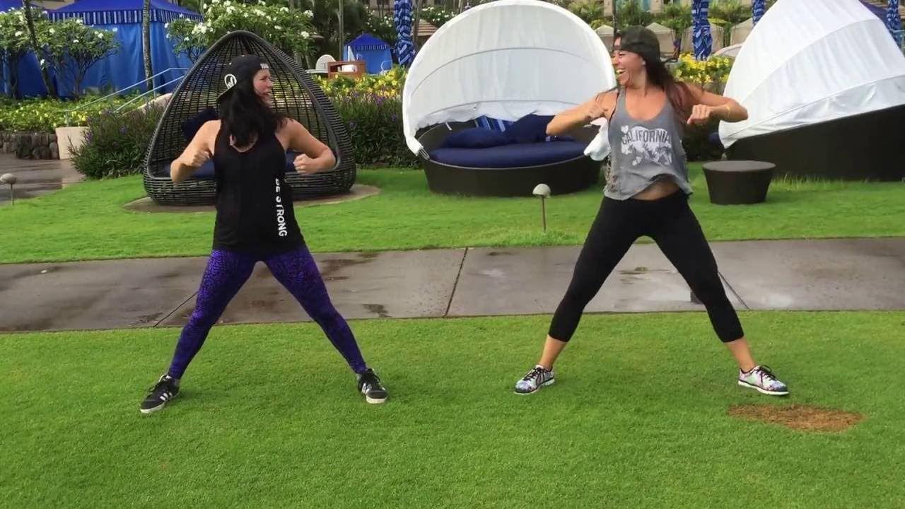 Tara Romano Dance Fitness - Sak Noel & Salvi ft. Sean Paul - Trumpets - YouTube