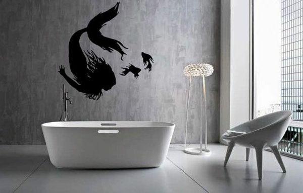 wandfarbe für badezimmer dunkelfarbig Farben u2013 neue Trends und - bilder fürs badezimmer