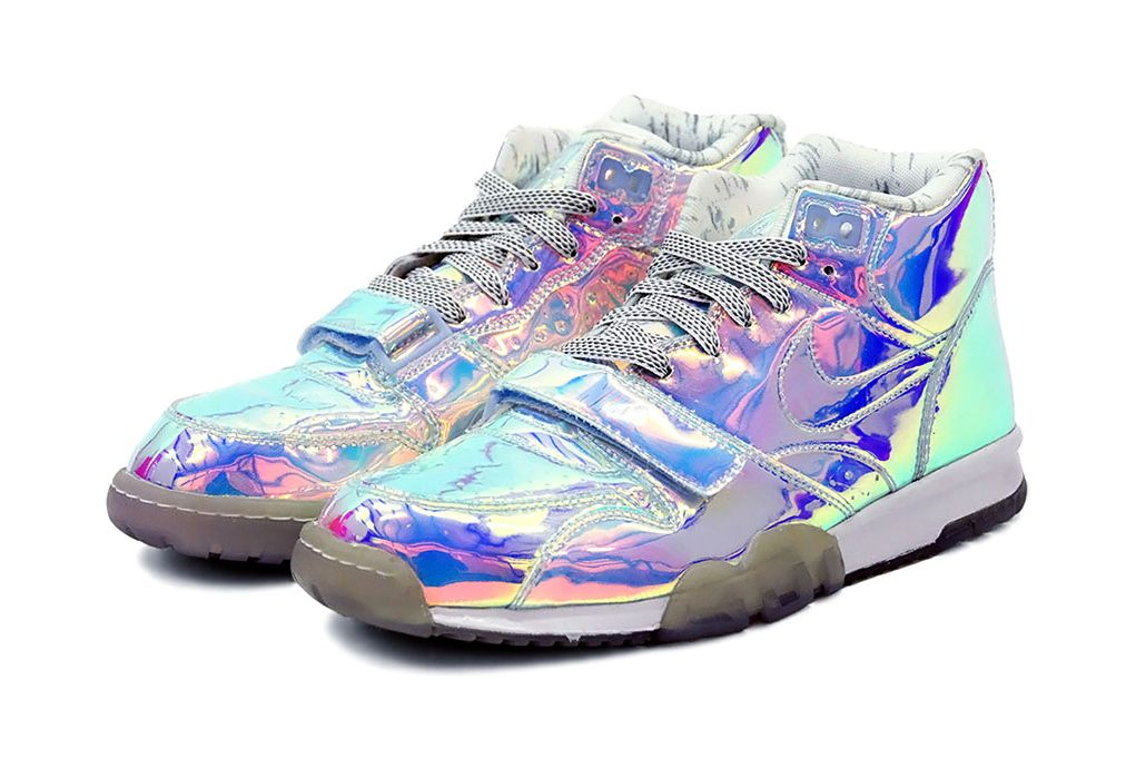 """NIKE Air Trainer – """"Silver Speed"""" (Super Bowl XLVII Pack) « The Hype BR"""