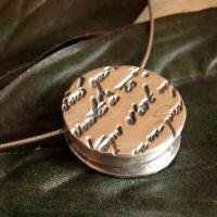 Metal Clay Pendant