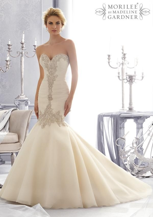 Wedding Bridal Gowns - Designer Morilee – Wedding Dress Style 2682 ...