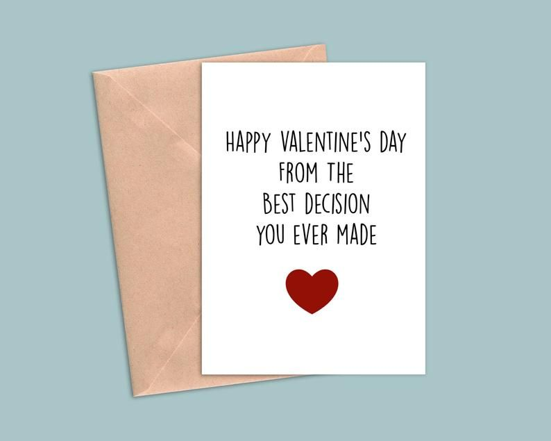 Funny Valentines Card For Husband Funny Valentines Day Card Etsy Valentines Card For Husband Funniest Valentines Cards Valentines Cards