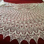 Ravelry: Monica's Shawl pattern by Meeli Vent