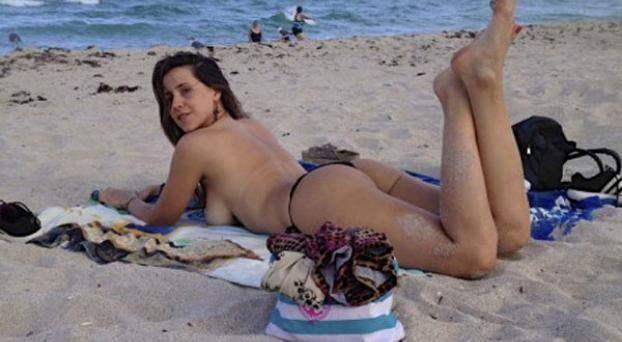 Amateur argentina chica