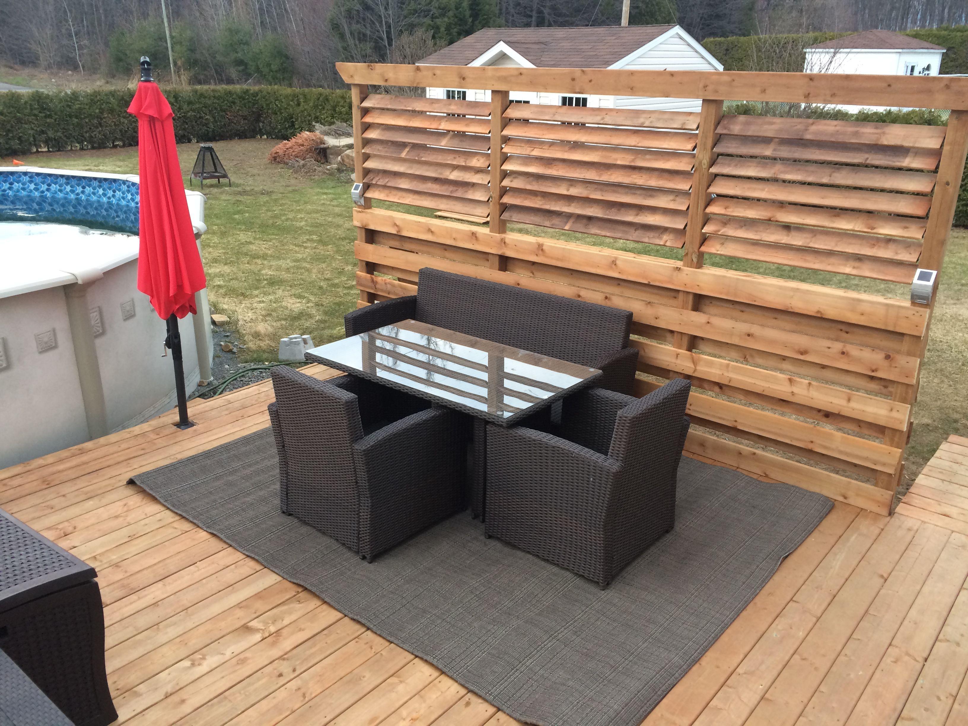 mur d 39 intimit et patio mur d 39 intimit et patio. Black Bedroom Furniture Sets. Home Design Ideas
