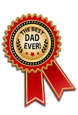 Best Dad Medal Father S Day Card Free Greetings Island Father S Day Greeting Cards Happy Fathers Day Cake Father S Day Card Template