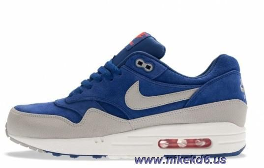 bdfad342c6229b Cheap Deep Royal Blue Granite Sail Team Orange Nike Air Max 1