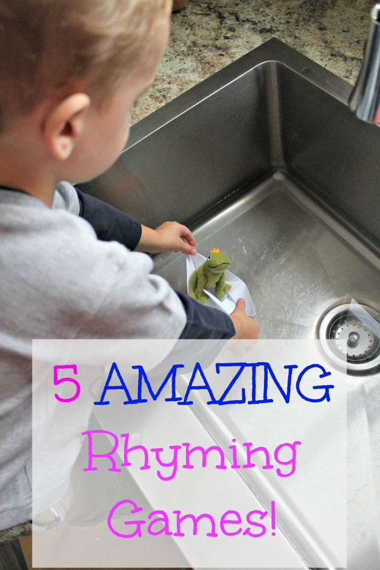 A fantastic resource for teaching kids to rhyme!  Rhyming activities for preschoolers that are fun and help even those struggling with this important skill.