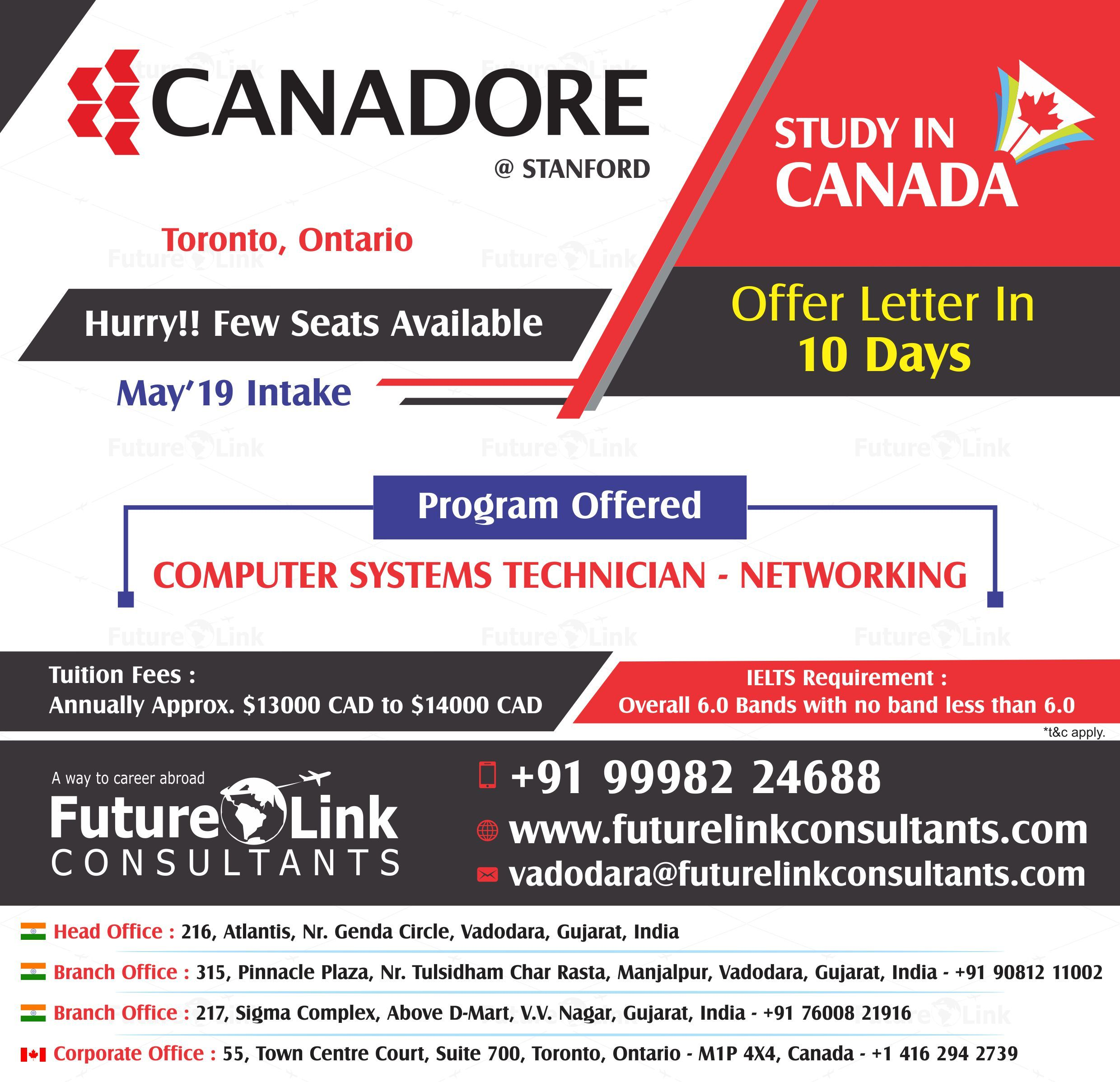 Study In Canada Get Enrolled In Canadore College Toronto