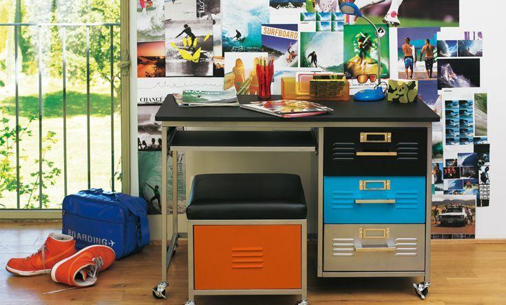 Vegas Bureau Colore Alinea Meuble Deco Mobilier De Salon