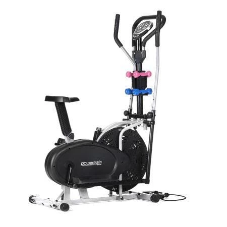 Elliptical Cross Trainer with Dumbbell Sets | Elliptical ...