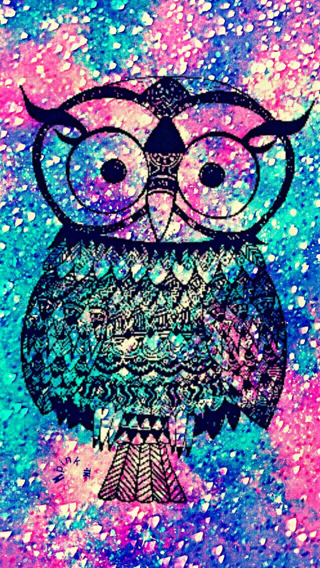 Bling Owl iPhone/Android Wallpaper (With images) | Owl ...