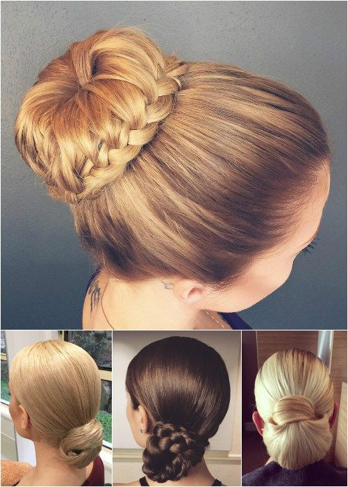 Prom Hairstyles Updos 60 Trendiest Updos For Medium Length Hair  Formal Bun Chignons And