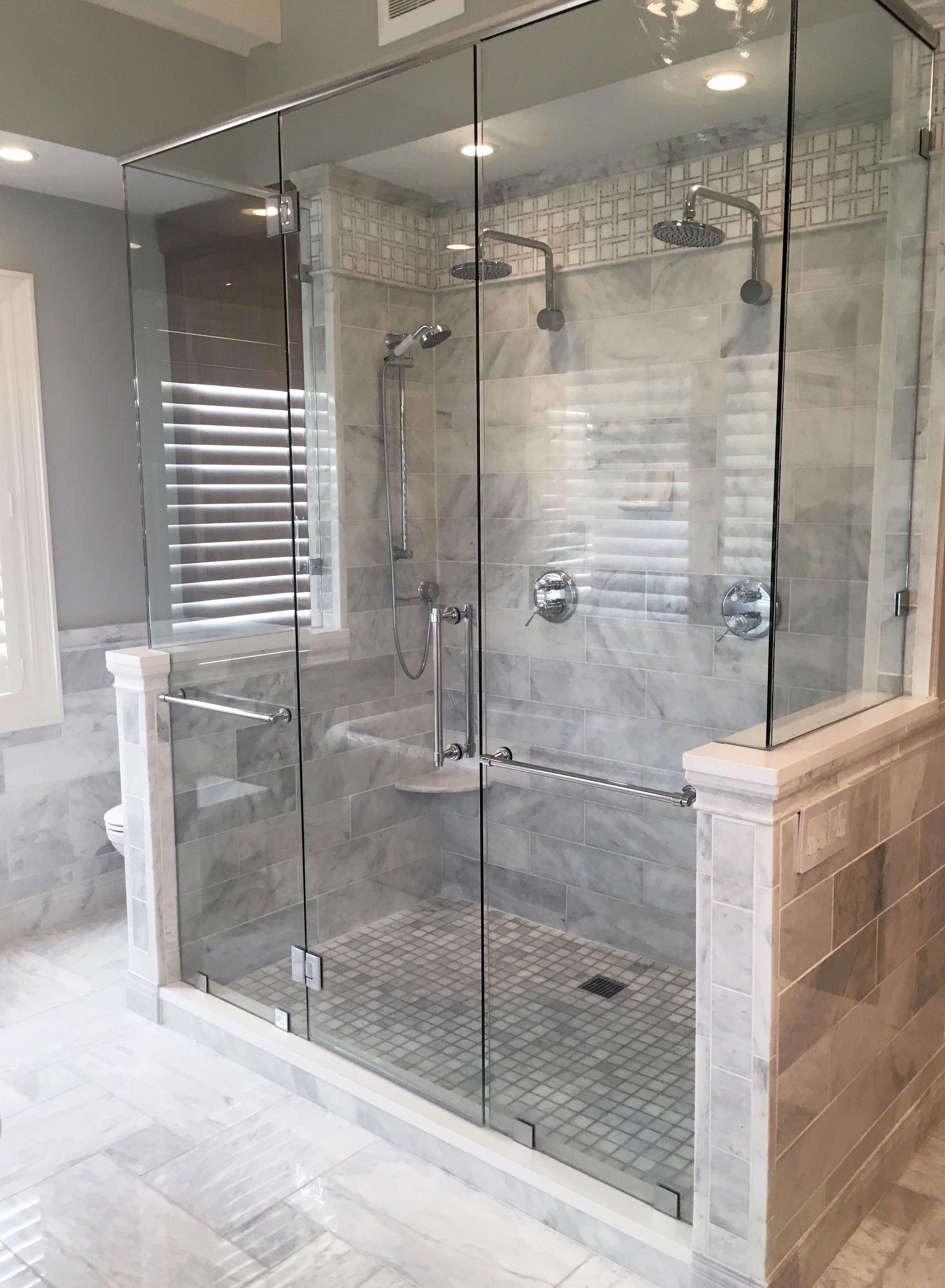 32 Simply Double Shower Head Master Baths Master Bath Shower Bathrooms Remodel Bathroom Remodel Master