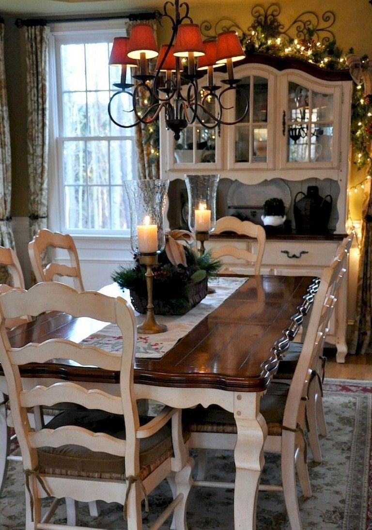 78 stunning french country dining room table and decor ideas rh pinterest com