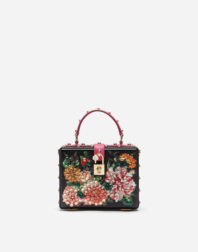 Photo of Dolce Box Bag with Embroidery – Women's Bags | Dolce&Gabbana