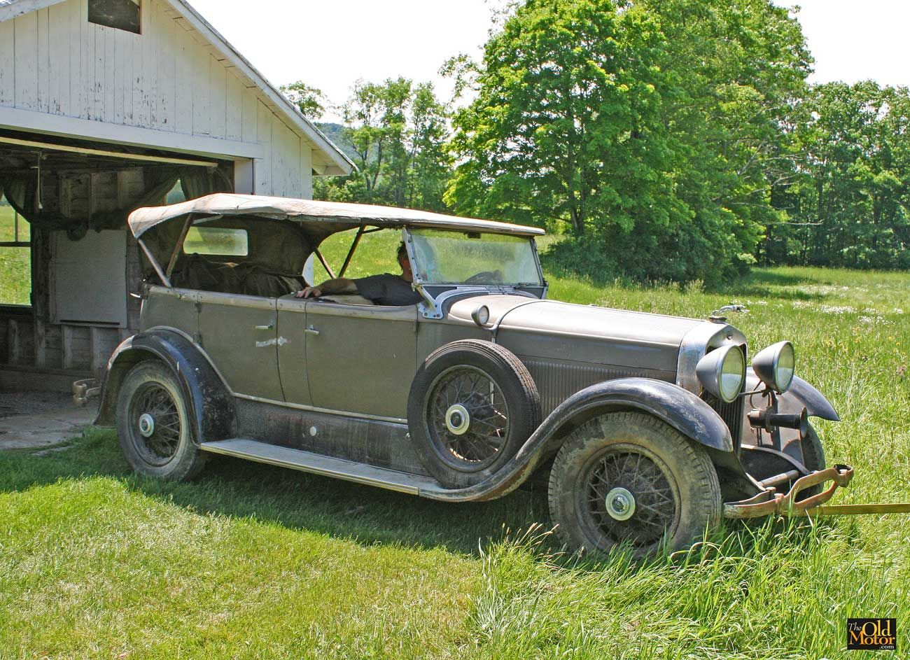 For Sale: Barn-Fresh 1930 Lincoln Sport Phaeton just removed after ...
