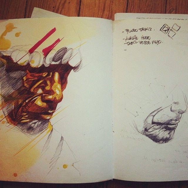 #sketch #calobs #graffiti #elsalvador #streetart #blackbook