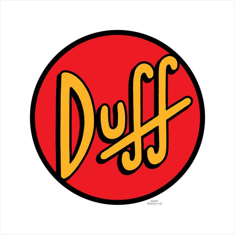 The Simpsons Duff Logo Men's T-Shirt