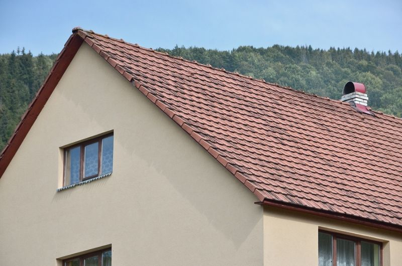 Are you familiar with a Gable Roof? Also known as pitched