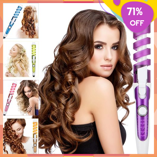 Hair Curler Iron Curling Wand Styling Tool Professional Magic Fast Heating Electric Hair Styles Hair Curlers Hair Styler