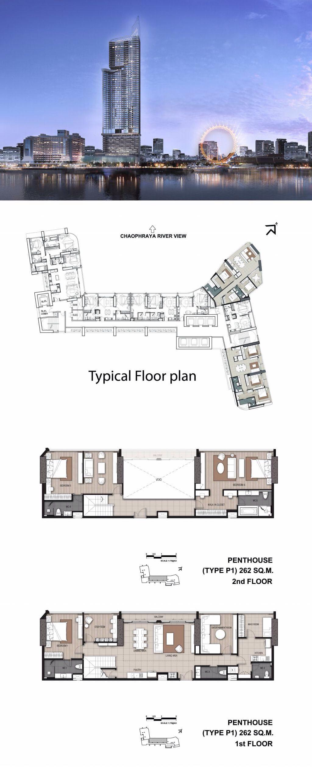 Menam Residences, Bangkok   Apartments/Penthouses   Pinterest ...