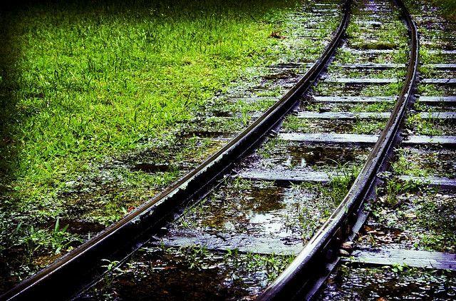 Choo Choo Tracks by cybertoad, via Flickr