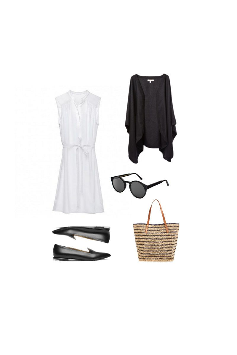 Minimal Wardrobe Summer Outfits - 10 Summer outfits from my minimal wardrobe capsule closet.