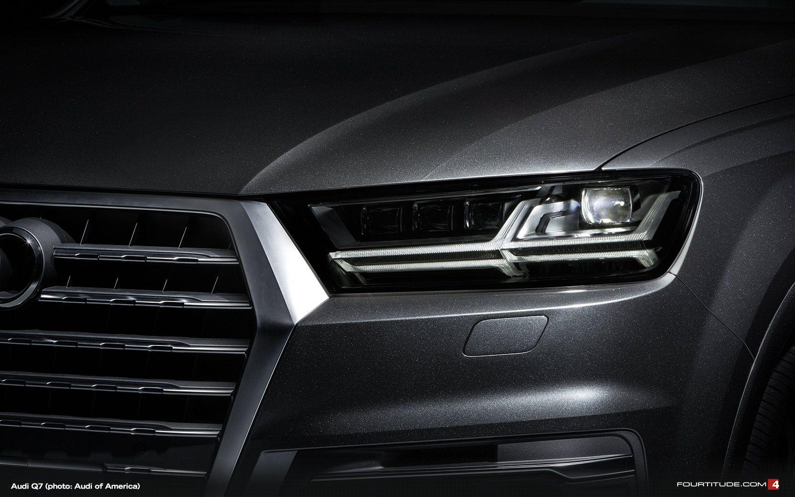 Audi Q7 Headlamp Audi Autos Led