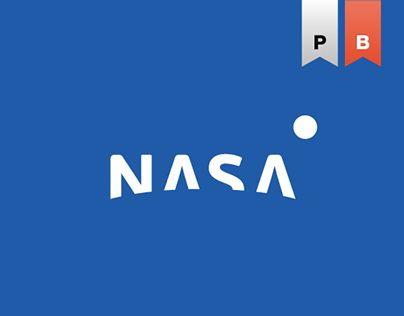 """다음 @Behance 프로젝트 확인: """"NASA"""" https://www.behance.net/gallery/17351713/NASA"""