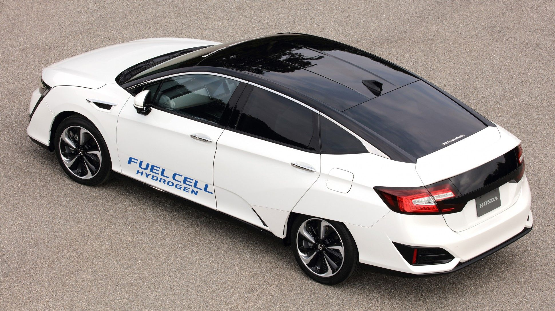 Honda S New Hydrogen Ed Vehicle Feels More Like A Real Car Forbes