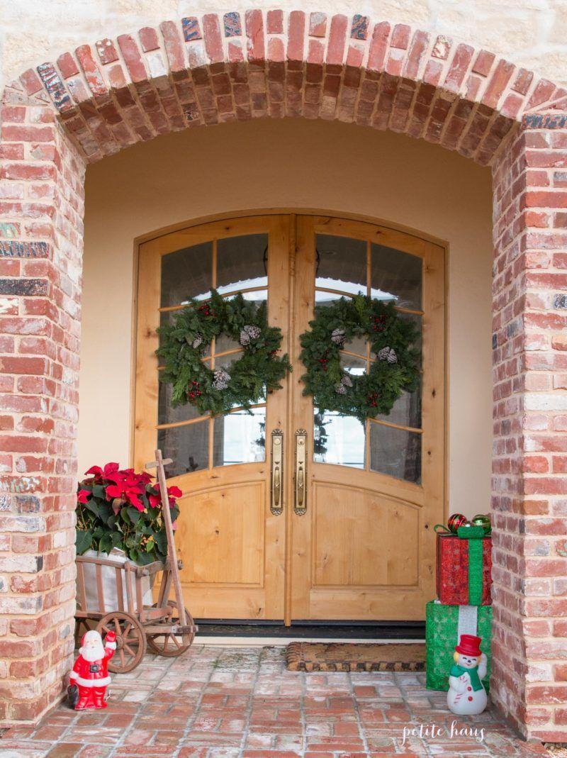 Christmas Porch and Holiday Door Decor Hop | Christmas ...
