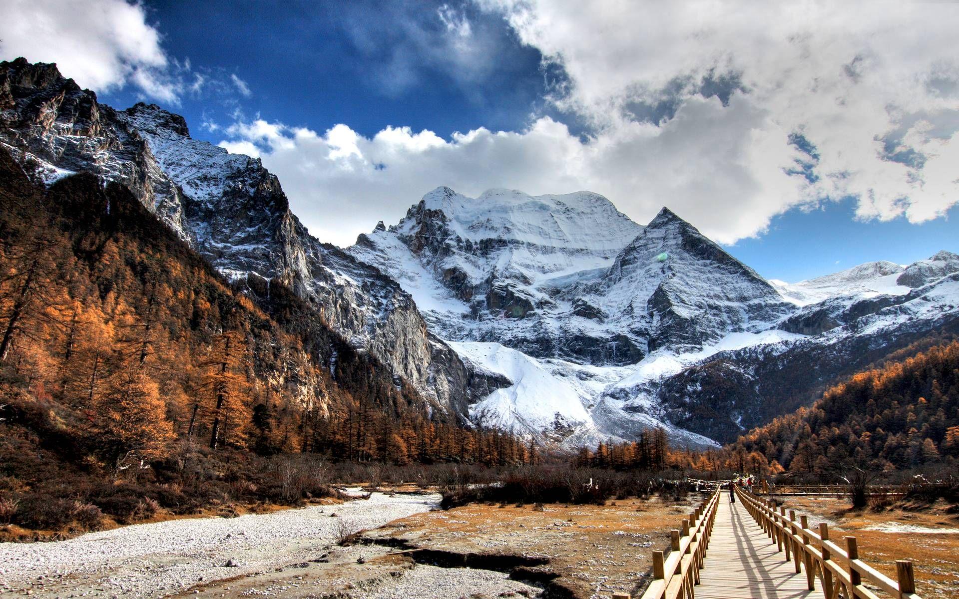 Snow Mountain Wallpaper Free Mountain Wallpaper Mountains